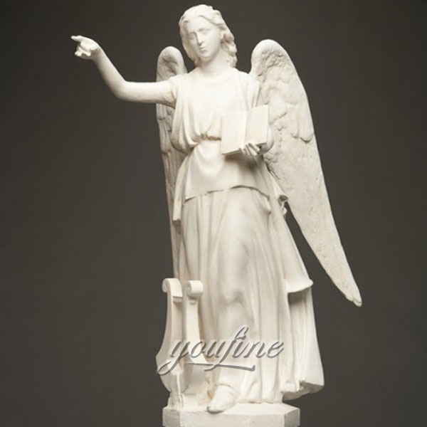 Мраморная статуя ангела хранителя