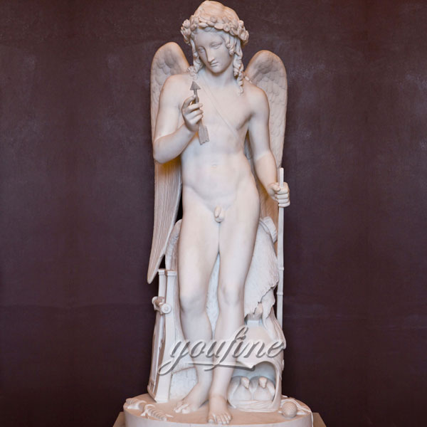 Мраморные статуэтки ангелов