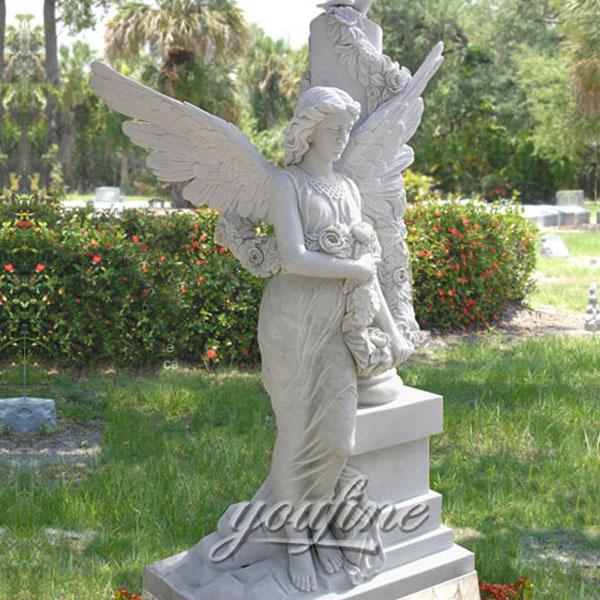 Памятник ангела на могилу