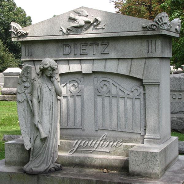 Памятник с ангелом большим любимому