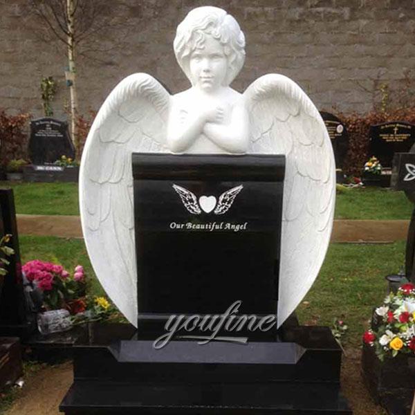 Памятник с ангелом за детей