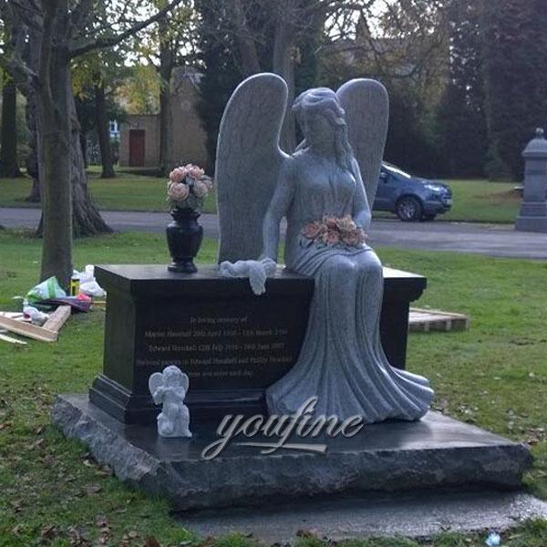 Памятник с ангелом любимому