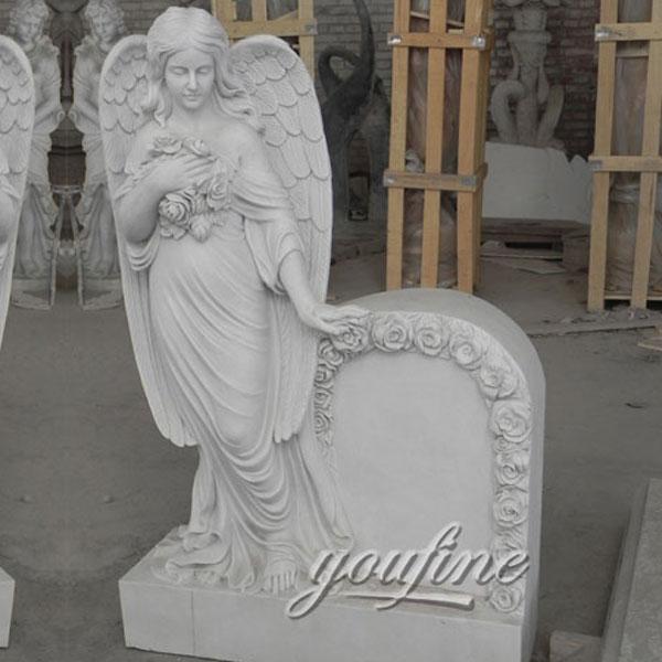 Памятник с ангелом хранителью