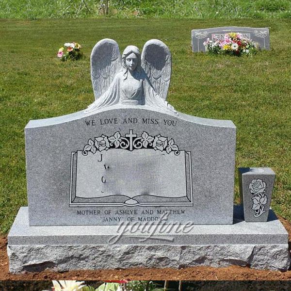 Памятник с ангелом хранителя