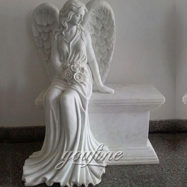 Скульптура плачущий ангел