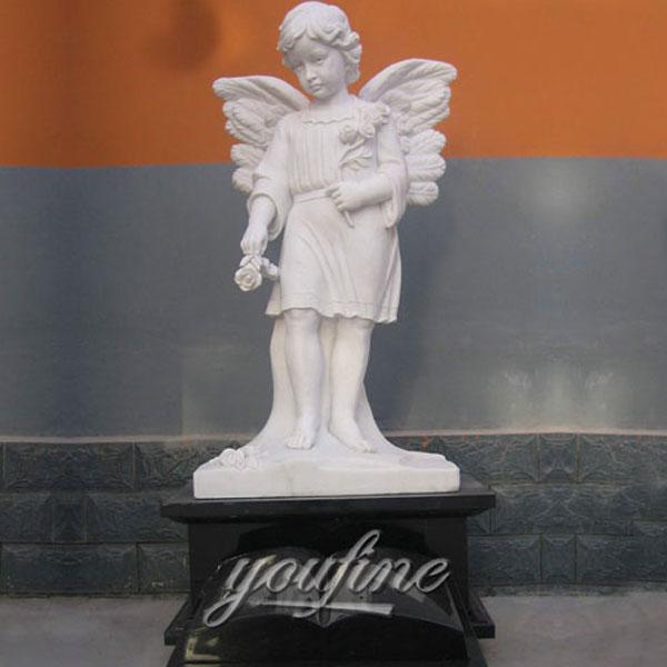 Скульптуры ангела из мрамора