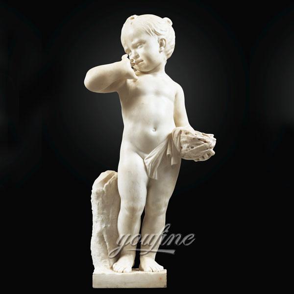 Статуэтка ангела из белово мрамора