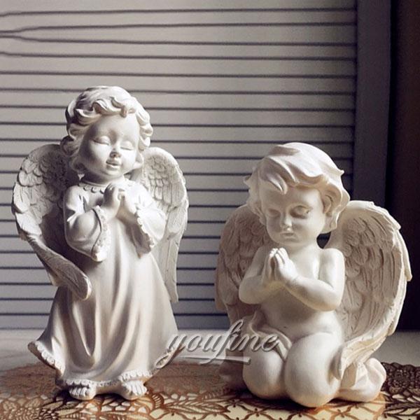 Статуэтка ангел детей из мрамора в доме