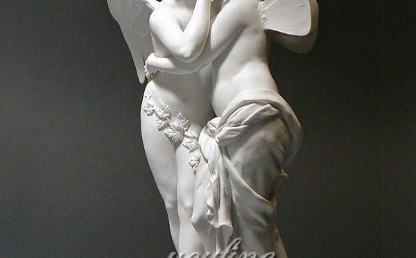 Статуэтка два ангела из мрамора