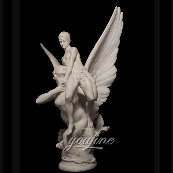 Статуя ангела из природного мрамора