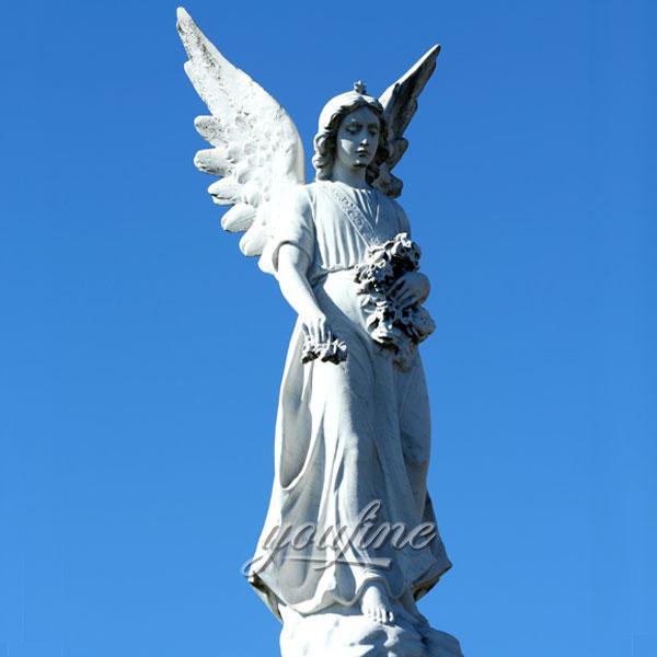 Статуя ангела хранителя для сада
