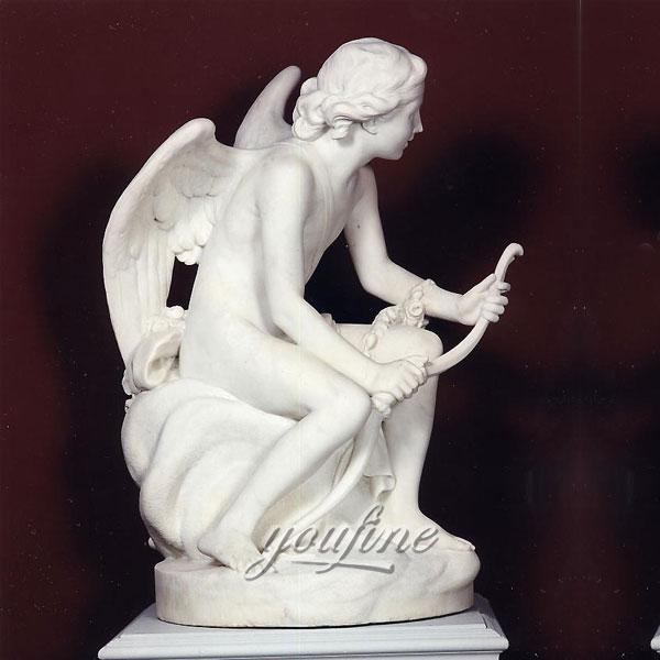 Статуя ангелов из мрамора для сада