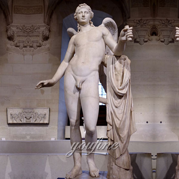 Статуя ангел из мрамора для декора