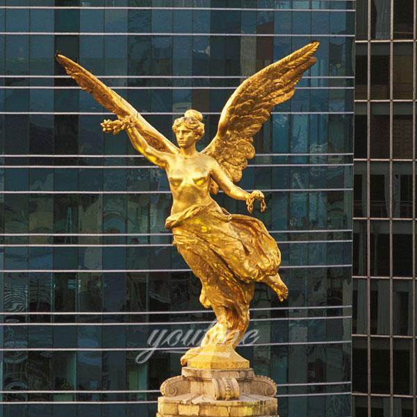 Статуя ангела из бронзы для декара