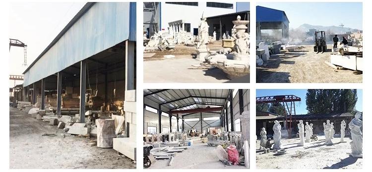 Скульптура для сада и дома Белый мрамор Победа Скульптура богини на продажу
