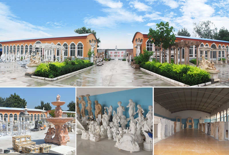 Мраморная скульптура купидона и психеи