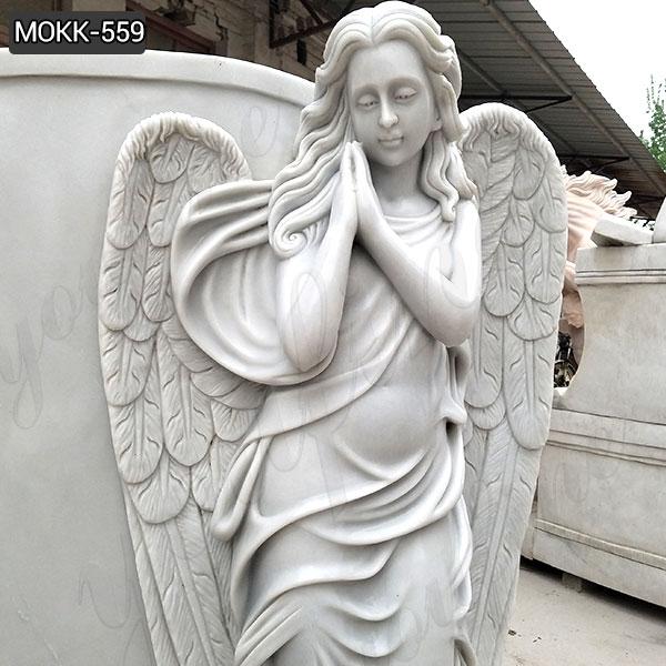 Мраморный ангел памятник-надгробие